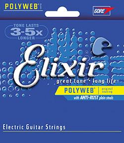 cordes de guitare électrique elixir
